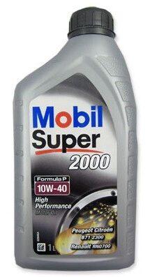 Mobil Super 2000 X1 10W40 Formula P