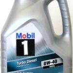 Mobil 1 Turbo Diesel 0W40: olio motore completamente sintetico