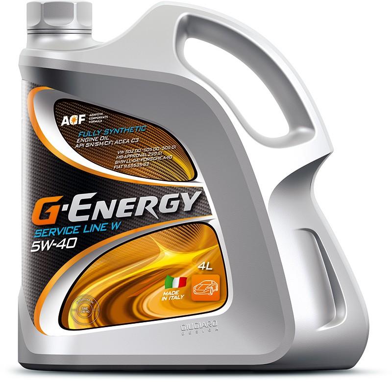 G-Energy-Service-Line-W-5W-40-4L