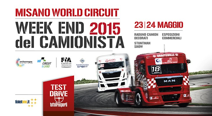 bronchi combustibili week end del camionista 2015 misano world circuit