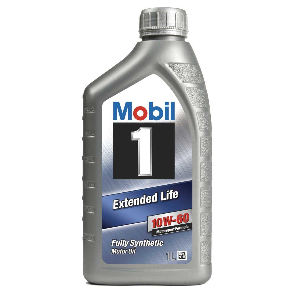 Mobil 1 10W60 olio motore sintetico per competizione