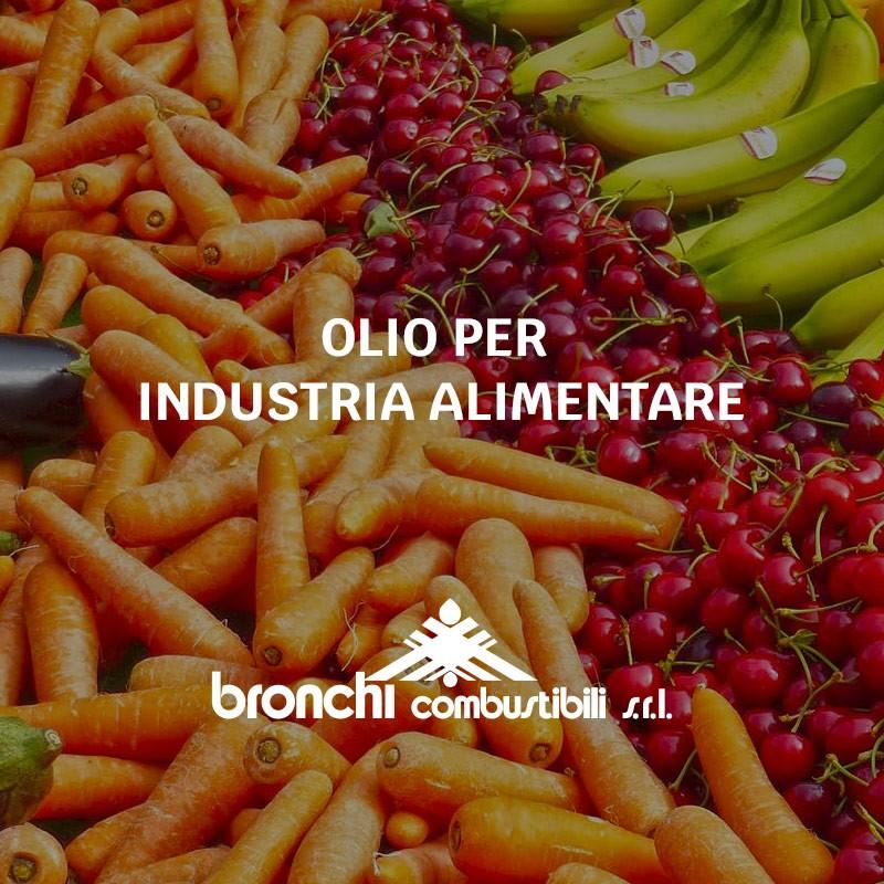 Olio industria alimentare