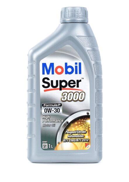 mobil super 3000 formula p 0w30