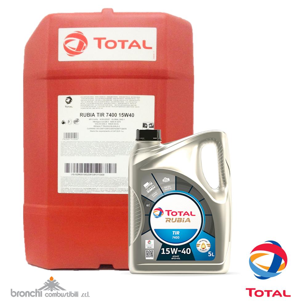 Total Rubia Tir 7400 15w40