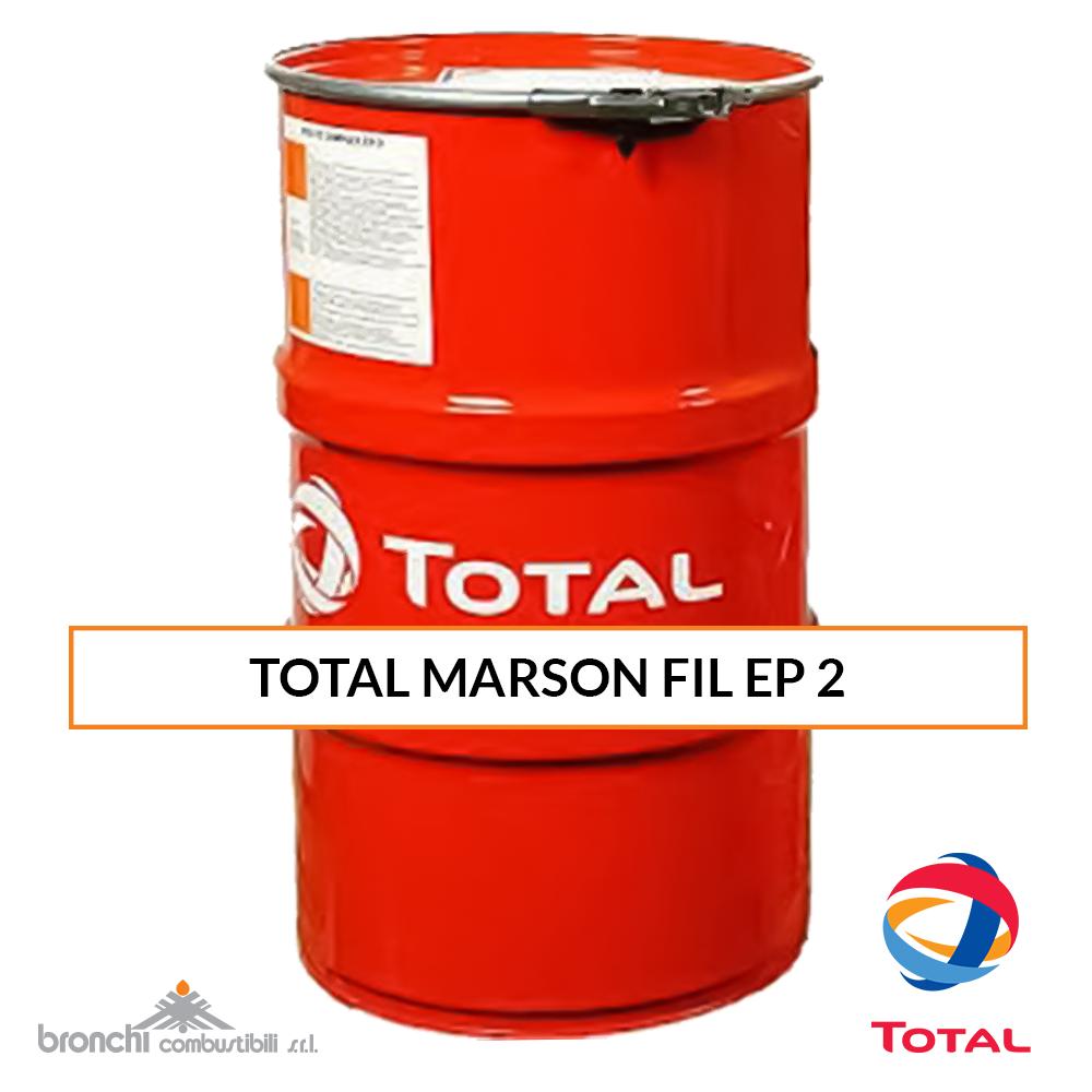 TOTAL MARSON FIL EP 2 Grasso al litio estreme pressioni.