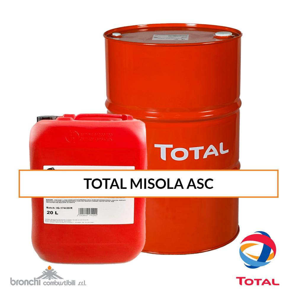 TOTAL MISOLA ASC olio industria carta