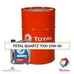 TOTAL QUARTZ 7000 10W-40 olio motore