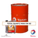 TOTAL QUARTZ 9000 5W-40 Olio Motore Benzina Diesel