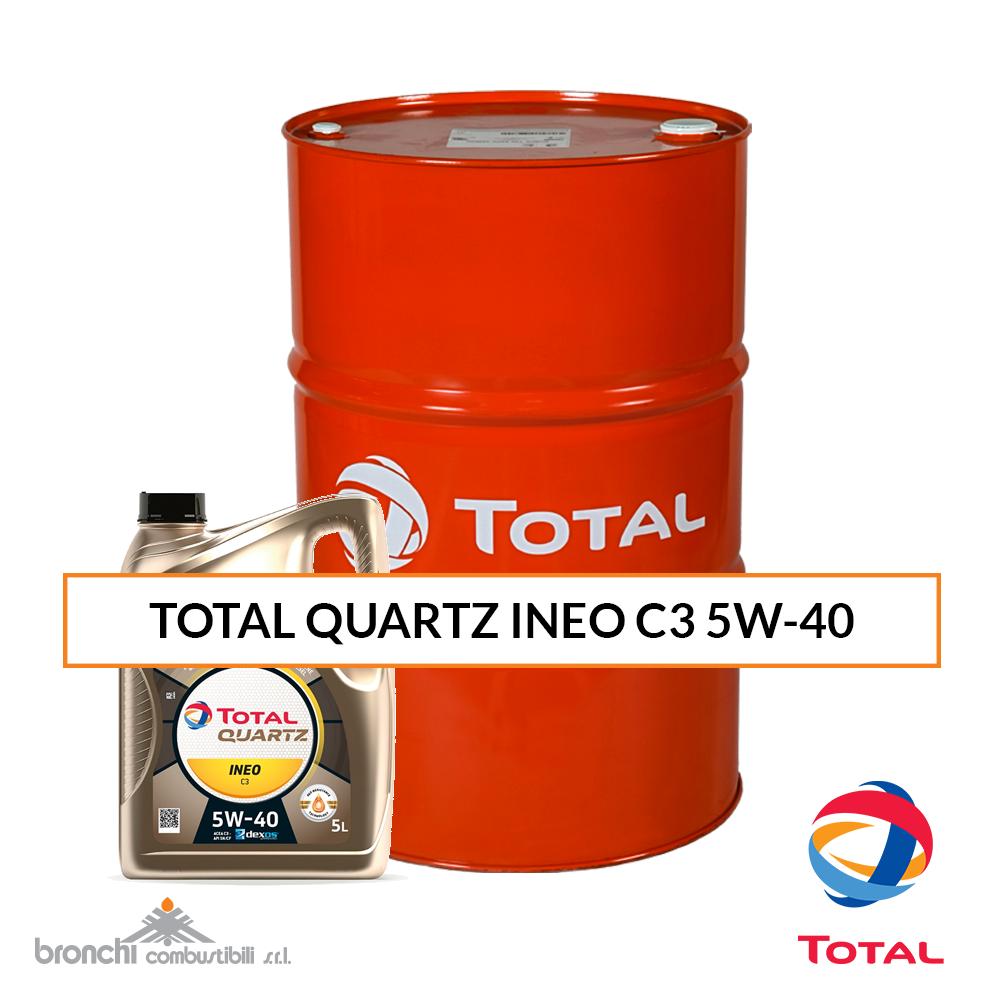 TOTAL QUARTZ INEO C3 5W-40 Olio Motore veicoli leggeri