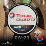TOTAL QUARTZ INEO XTRA FIRST 0W-20olio motore sintetico avanzato, formulato e utilizzato per il rifornimento in fabbrica e il post-vendita di PSA PEUGEOT CITROËN