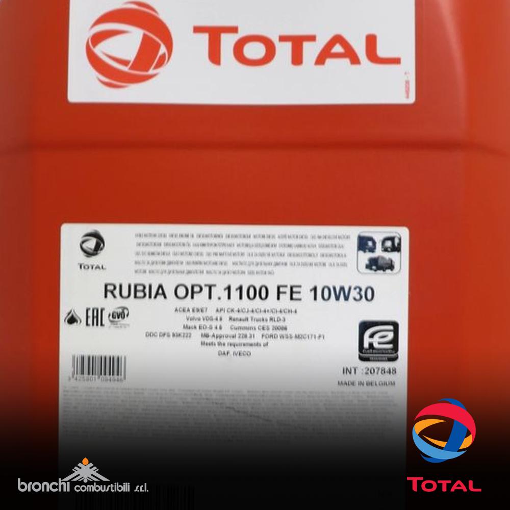 TOTAL RUBIA OPTIMA 1100 FE 10W-30
