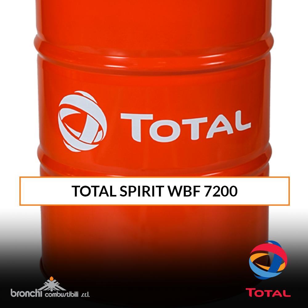 TOTAL SPIRIT WBF 7200 Lubrificante Lavorazione Metalli